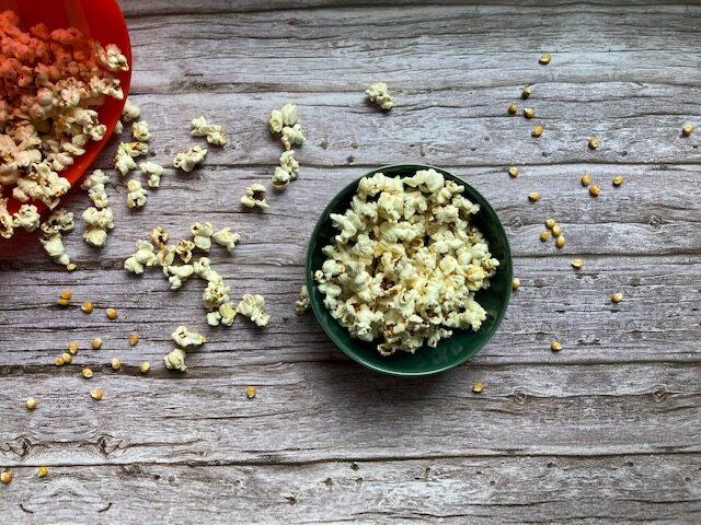 Popcorn aus der Mikrowelle zuckerfrei naschen